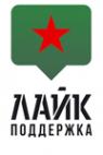 Логотип компании Лайк Поддержка