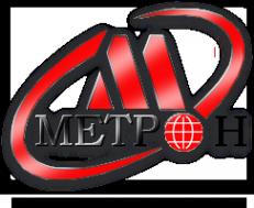 Логотип компании Метрон