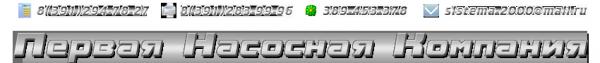 Логотип компании Первая Насосная Компания