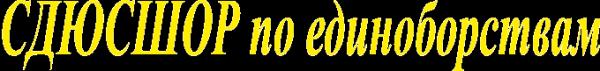 Логотип компании СДЮСШОР им. Б.Х. Сайтиева