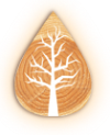 Логотип компании Деревянный декор